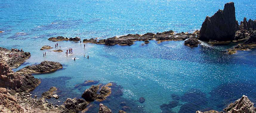 Cabo de gata playa